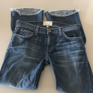 Current / Elliott jeans size 27 mid rise.